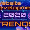 Создание Веб сайта тренды 2020